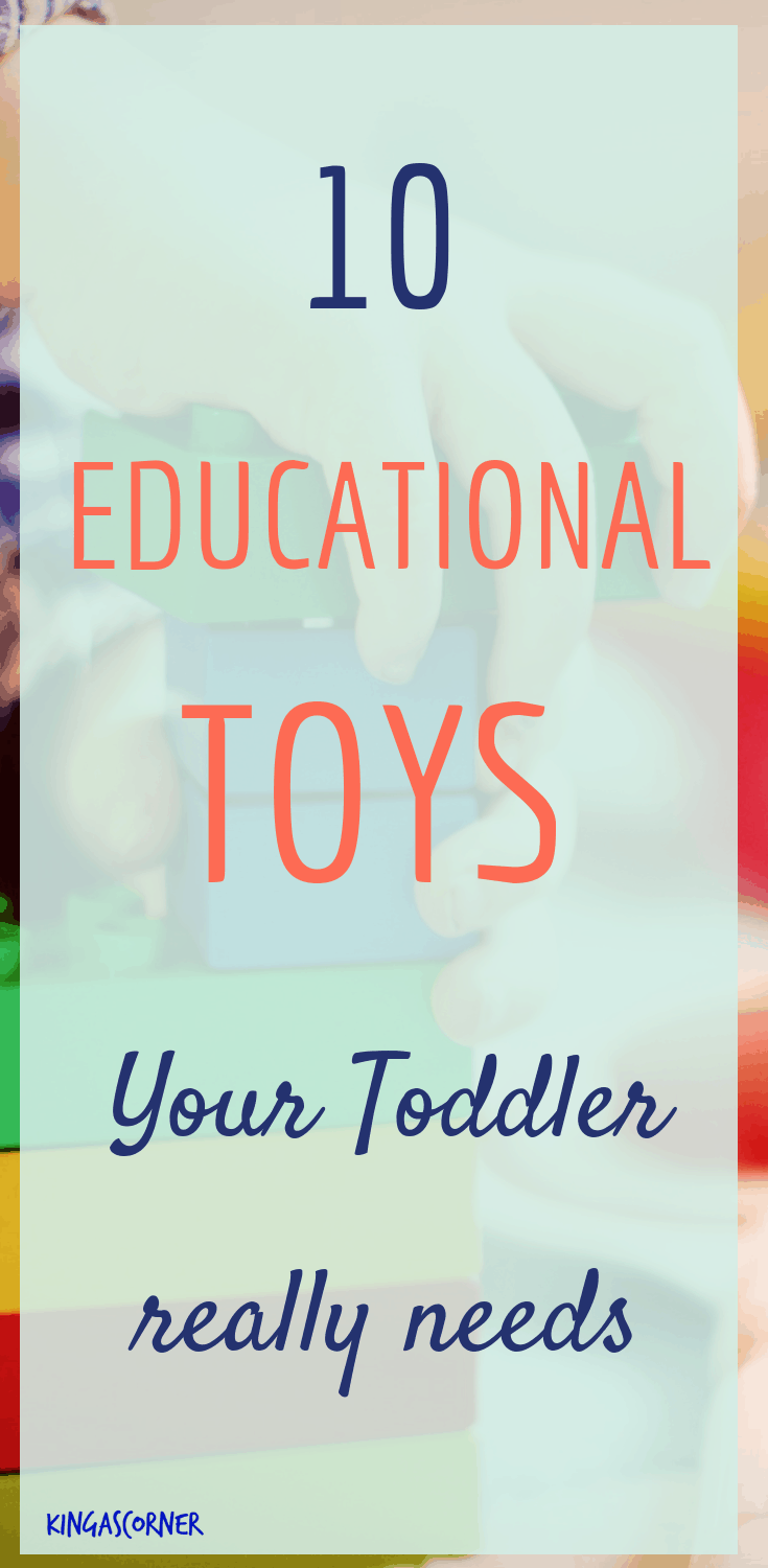 10 educational toys for your toddler