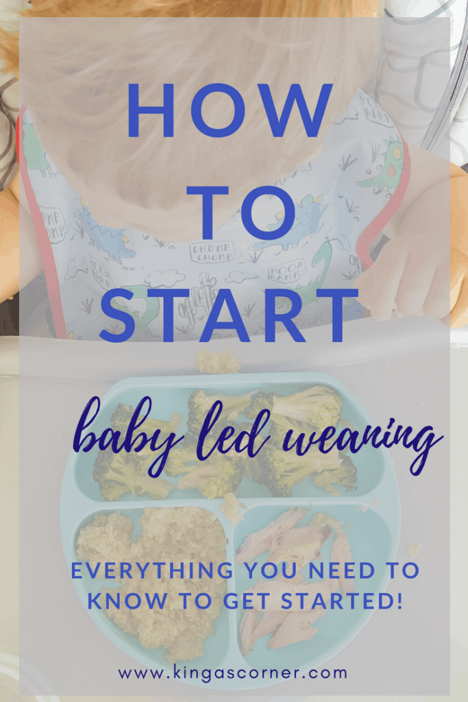 How to start baby led weaning