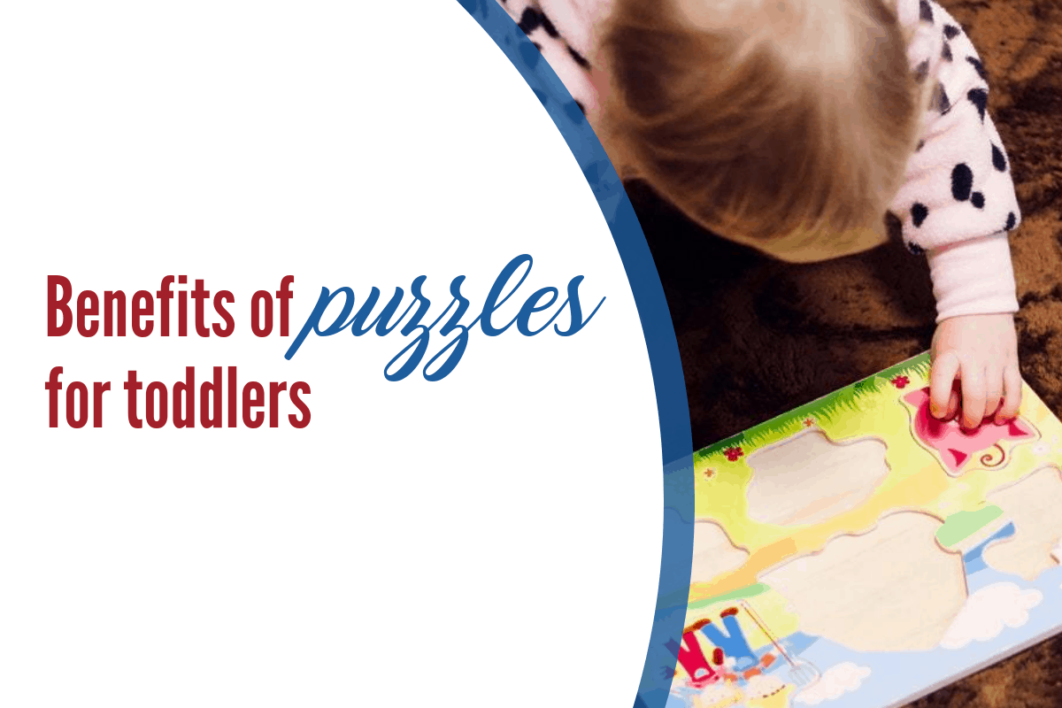 Puzzles. Why are they so good for toddlers?