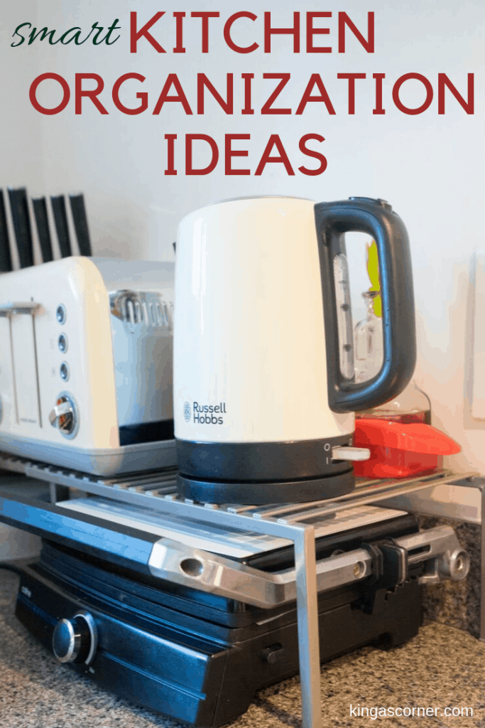 Looking for kitchen organization ideas that will simplify your life? Take a peek inside my kitchen to find solutions for a low budget.