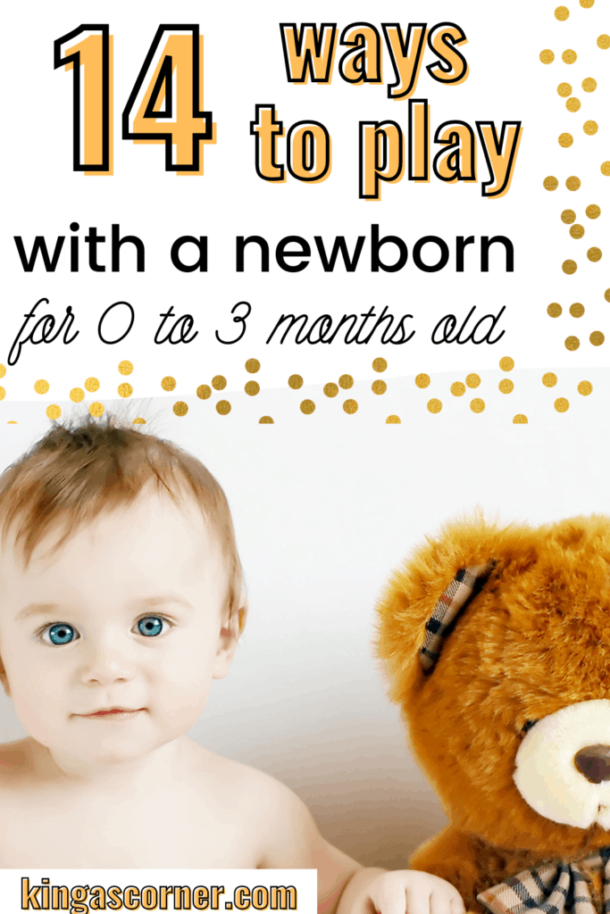 0 to 3 month old baby activities